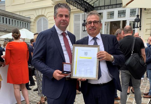 Dirk Rombaut (Passwerk) ontvangt Ereteken van de Vlaamse Gemeenschap