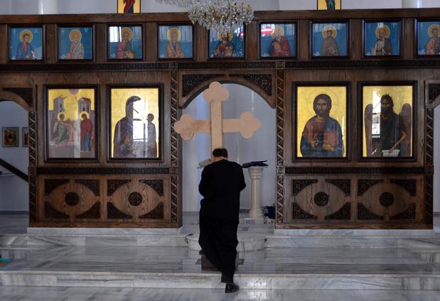 En Syrie, Noël morose pour les rares chrétiens restés dans le sud