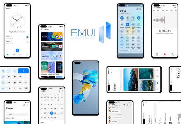 Huawei annonce le déploiement de l'EMUI 11 dans 14 smartphones