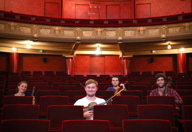 Jonge muzikanten van Collegium Vocale geven concert in AZ Jan Palfijn