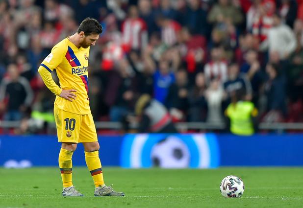 Le Barça éliminé dans les derniers instants par l'Athletic Bilbao