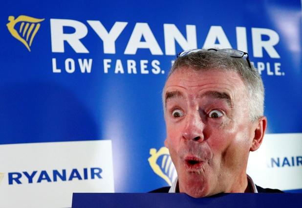 Bénéfice net annuel en recul de 29% pour Ryanair à cause d'une forte concurrence