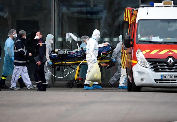 Importante opération d'évacuation de malades en France