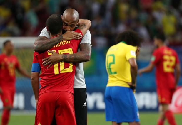 Quand Eden Hazard retrouve Thierry Henry et Olivier Renard à Dallas (photo)