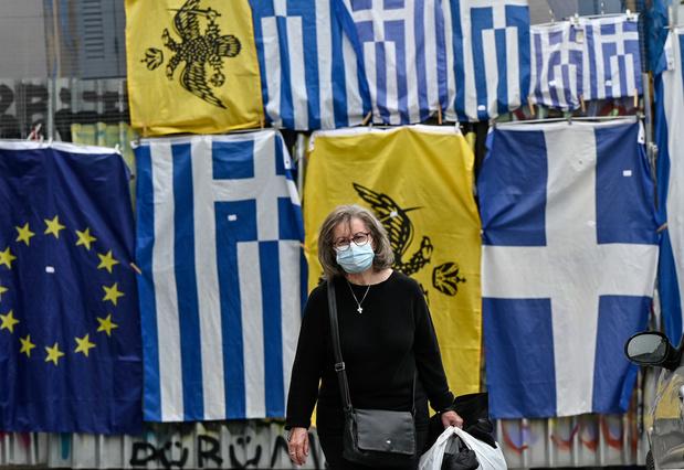 Athènes et les régions grecques les plus contaminées se reconfinent