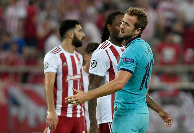 Tottenham gaspille à l'Olympiacos
