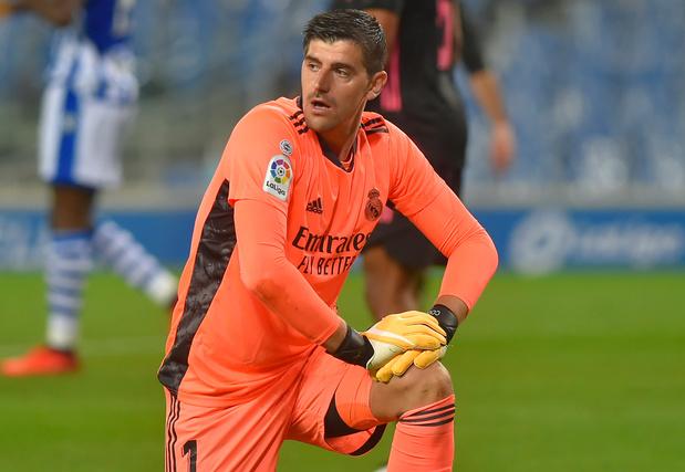 Courtois élu homme du match avec le Real, qui s'impose à Valladolid