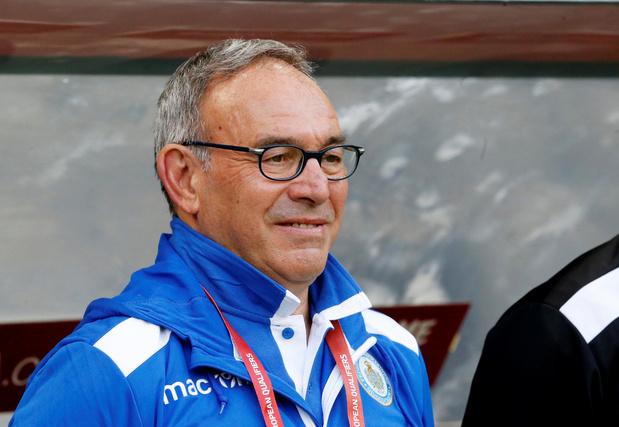 """Selon le coach Saint-Marin, """"jouer contre la Belgique, c'est un spectacle pour nous"""""""