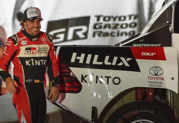 Quand Alonso découvre les aléas du Dakar...