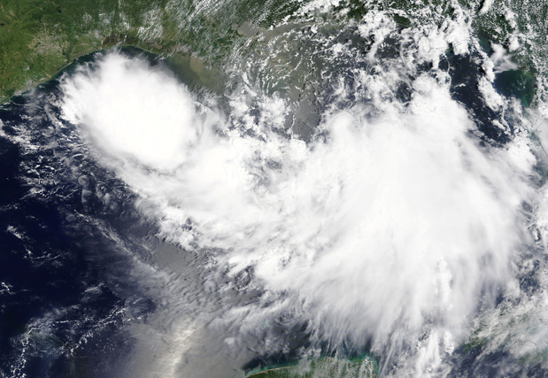 La tempête Barry, potentiel ouragan, menace la Louisiane (en images)