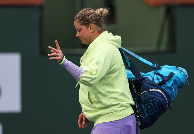 Indian Wells: toujours pas de victoire pour Kim Clijsters depuis son retour à la compétition