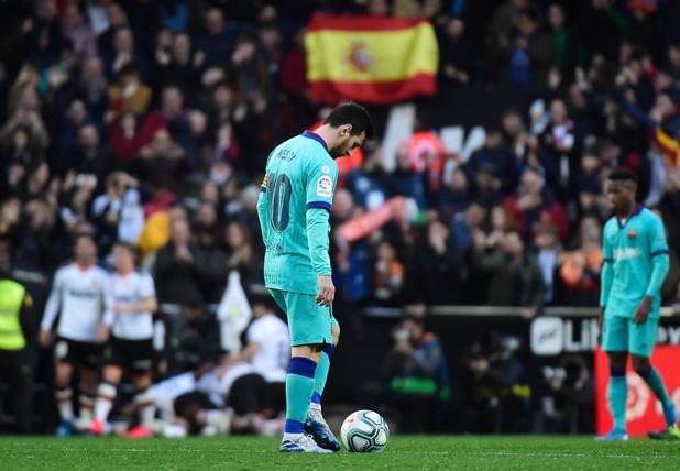 Le Barça sombre à Valence, première défaite pour Quique Setién