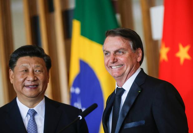 """Bolsonaro: """"La Chine fait de plus en plus partie de l'avenir du Brésil"""""""