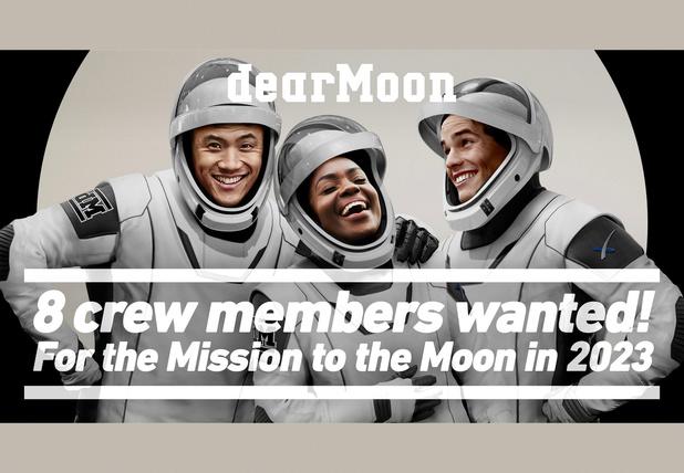 Japanse miljardair biedt acht gratis zitjes aan voor reis rond de maan