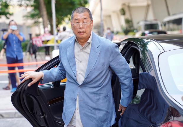 Hong Kong: Le magnat prodémocratie Jimmy Lai arrêté
