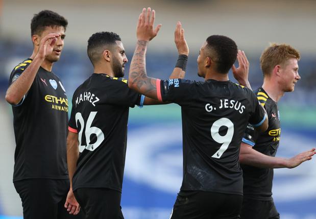 Manchester City, avec De Bruyne, s'impose largement à Brighton