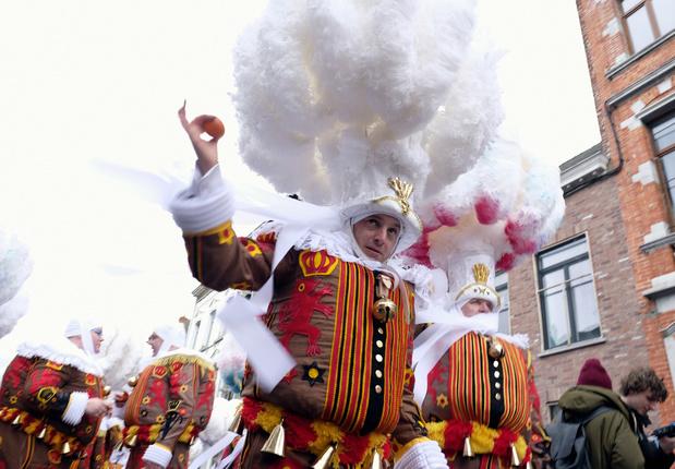 Le carnaval de Binche 2021 est annulé