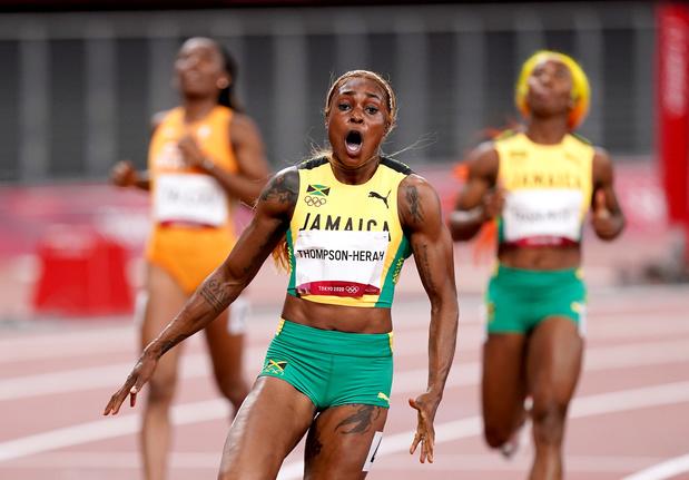 Elaine Thompson échoue à 5 centièmes du record du monde du 100 mètres de Florence Griffith-Joyner