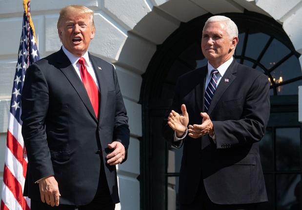 Donald Trump et Mike Pence, front commun face aux démocrates