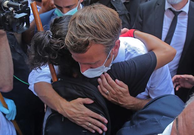 Au Liban, le pari risqué d'Emmanuel Macron
