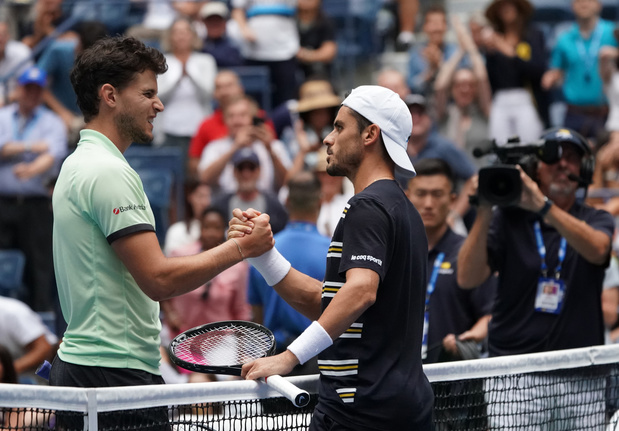 Thiem, N.4 mondial, éliminé au 1er tour de l'US Open