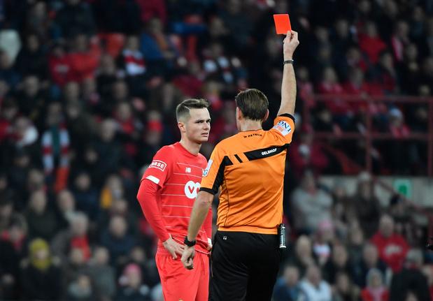 Le Standard va en appel contre la suspension de Zinho Vanheusden