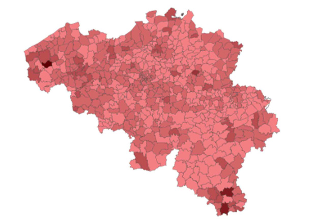 Les infections varient fortement entre les communes: voici la situation dans votre localité (carte interactive)
