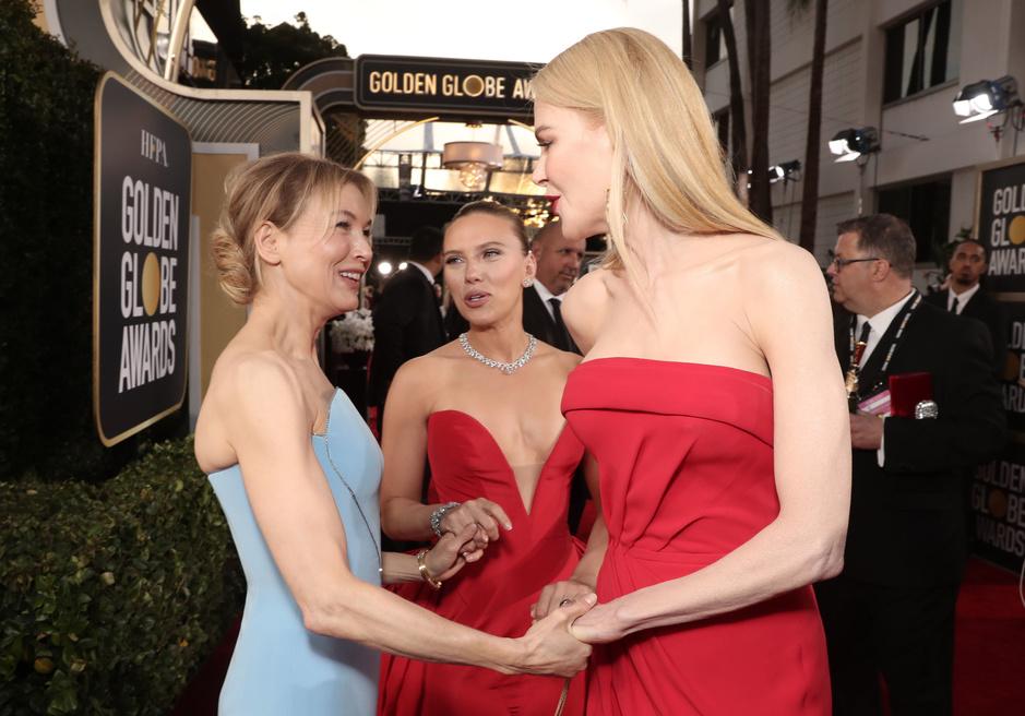 En images: les plus belles robes (et autres) aperçues aux Golden Globes 2020
