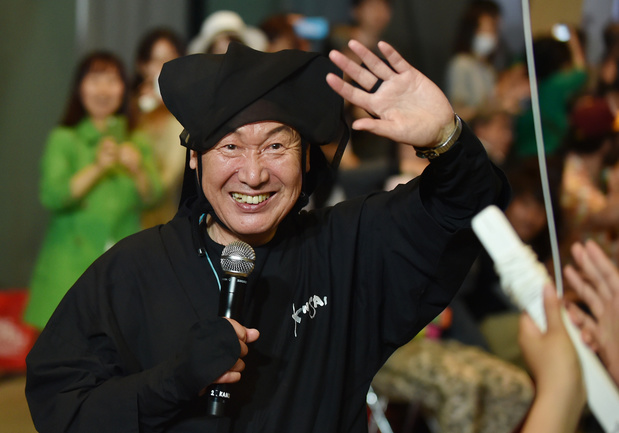 Afscheid van designer Kansai Yamamoto (76)