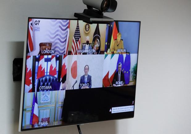 Le G7 renforce son soutien financier aux efforts mondiaux de lutte contre le coronavirus