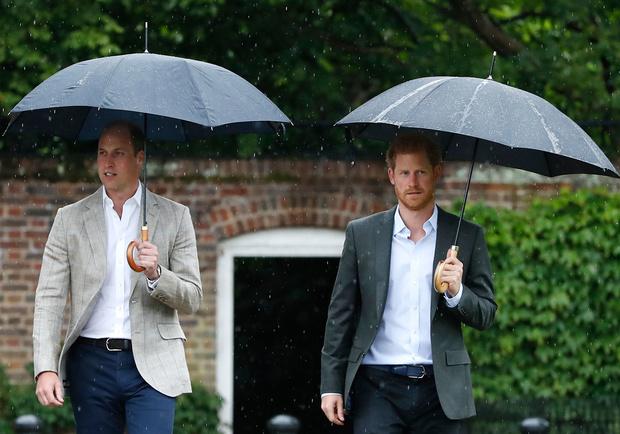 Diana: William et Harry réunis pour inaugurer une statue de leur mère