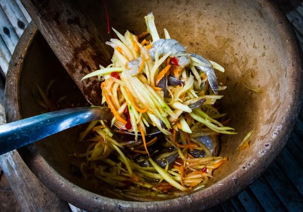 Trois recettes du Laos