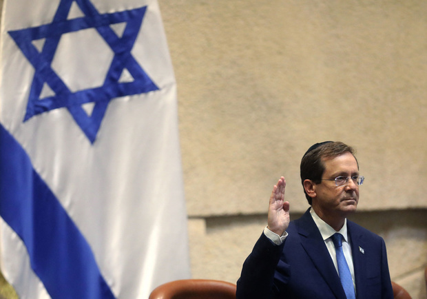 Isaac Herzog, le nouveau président d'Israël