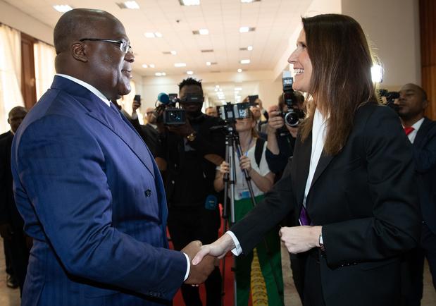 """Visite gouvernementale au Congo: """"Regarder positivement vers l'avenir"""""""