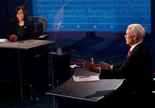Mike Pence praat eindelijk met opvolgster Kamala Harris