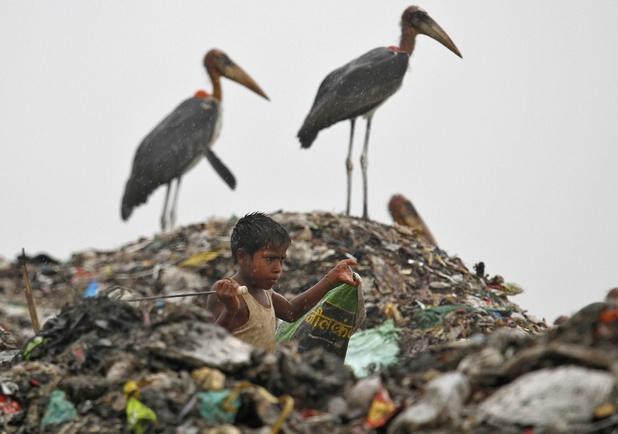 Hergebruik producten en grondstoffen loopt wereldwijd terug