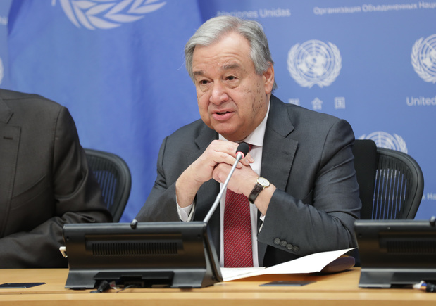 Seul un vaccin pourrait permettre une normalité, selon le chef de l'ONU