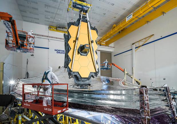 Opvolger van ruimtetelescoop Hubble in december gelanceerd