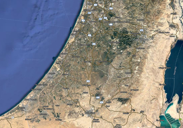 Israël s'inquiète de photos-satellites plus nettes sur Google Earth