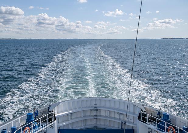 Geslaagde eerste overtocht voor grootste elektrische ferry