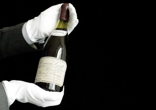 Vin: 8,7 millions d'euros pour une collection de grands crus de la Romanée