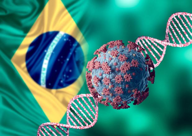 Covid: ce que l'on sait sur le variant brésilien P1