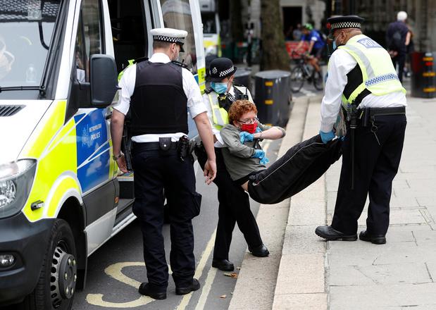 Extinction Rebellion in Londen: 680 arrestaties in september