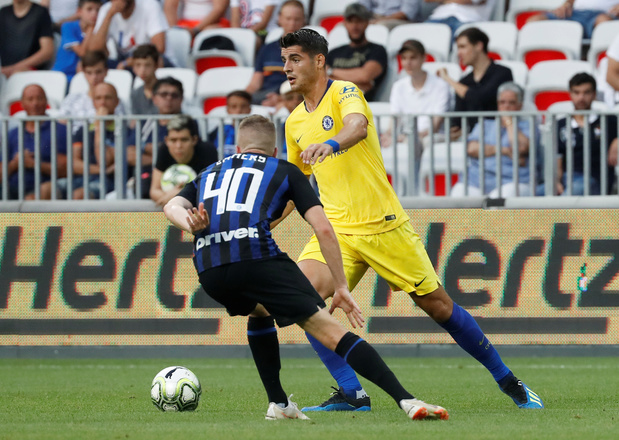 Xian Emmers prêté par l'Inter Milan à Waasland-Beveren