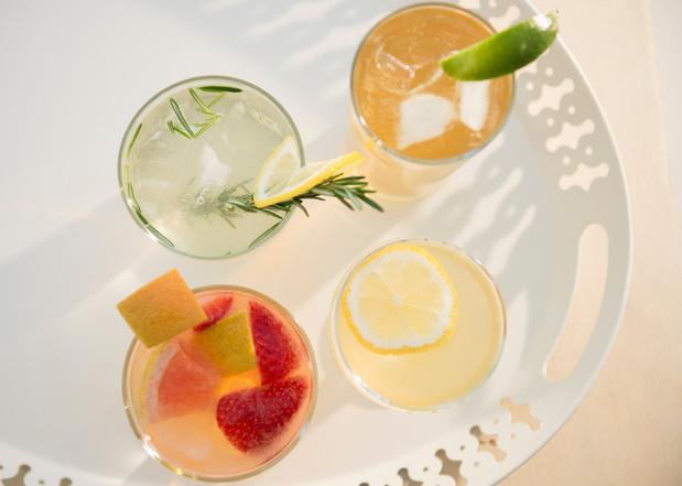 9 recettes de cocktails pour donner des airs de fête et de vacances à vos apéros
