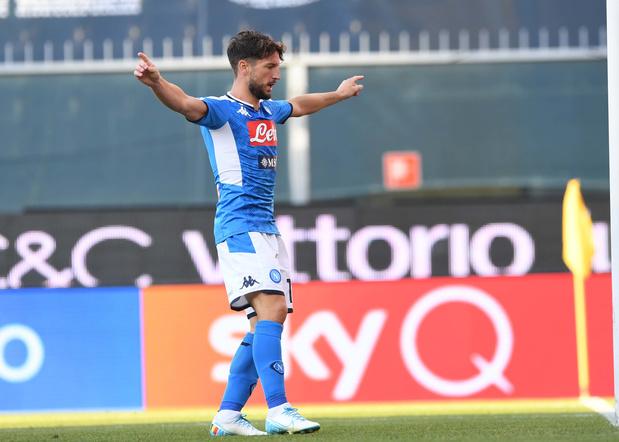 Calcio: un but pour Mertens, un podium pour Castagne