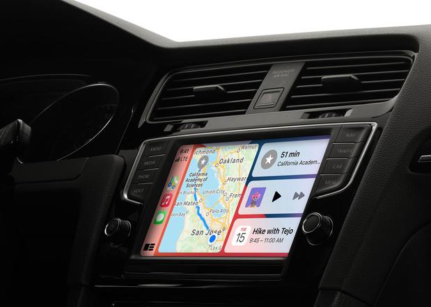 Apple wil via CarPlay ook de airco en stoelen in de auto aansturen