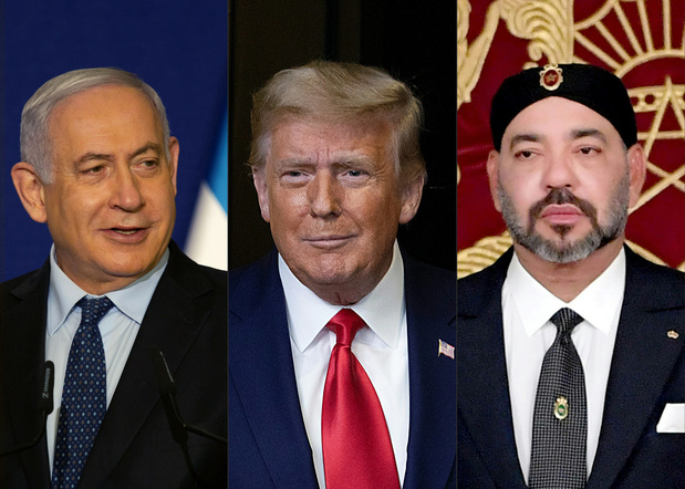 "Trump annonce un accord ""historique"" entre Israël et le Maroc"