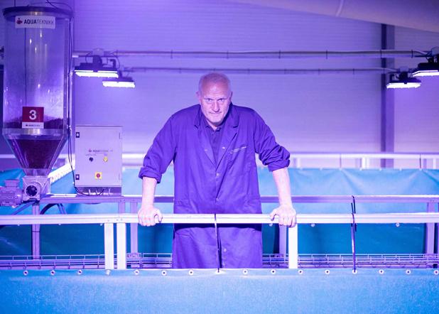 Saumon: des élevages loin de la mer