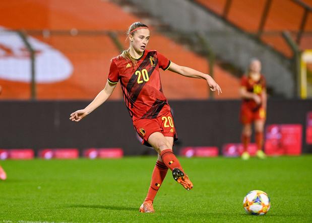 """Julie Biesmans (Red Flames): """"Plus hésitantes qu'impressionnées par les Pays-Bas"""""""